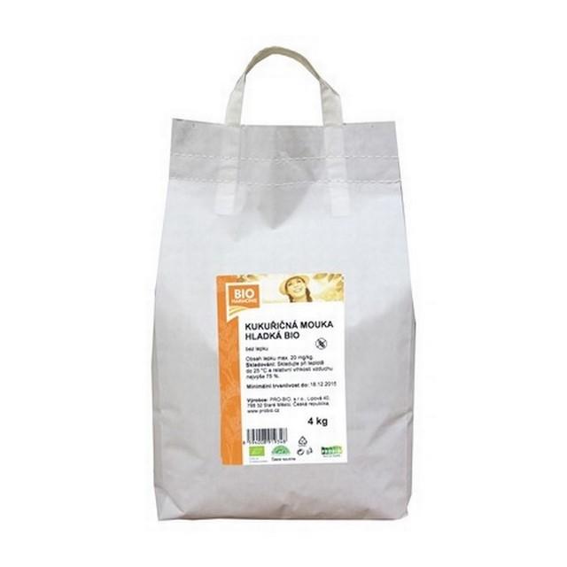 GASTRO - Kukuřičná mouka hladká BIO  1 KS (4 kg)