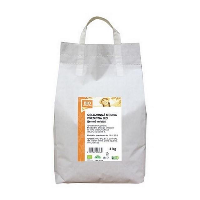 GASTRO - Celozrnná mouka pšen. (jemně mletá) BIO - 1 KS (4 kg)