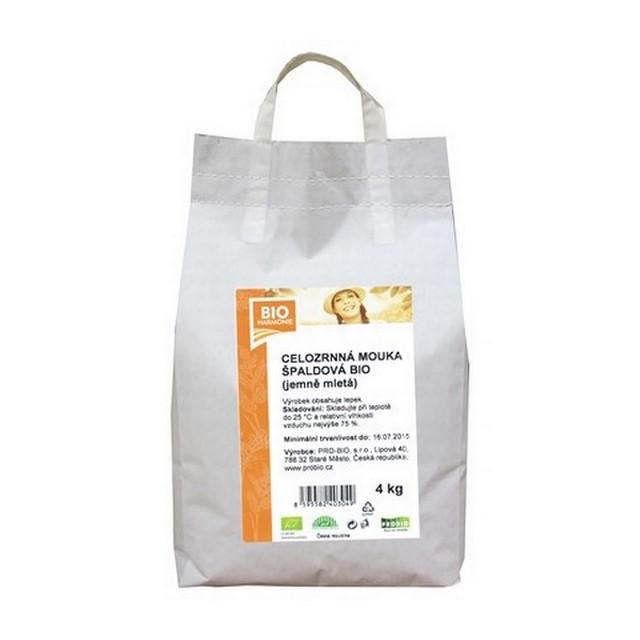 GASTRO - Celozrnná mouka špald. (jem. mletá) BIO - 1 KS (4 kg)