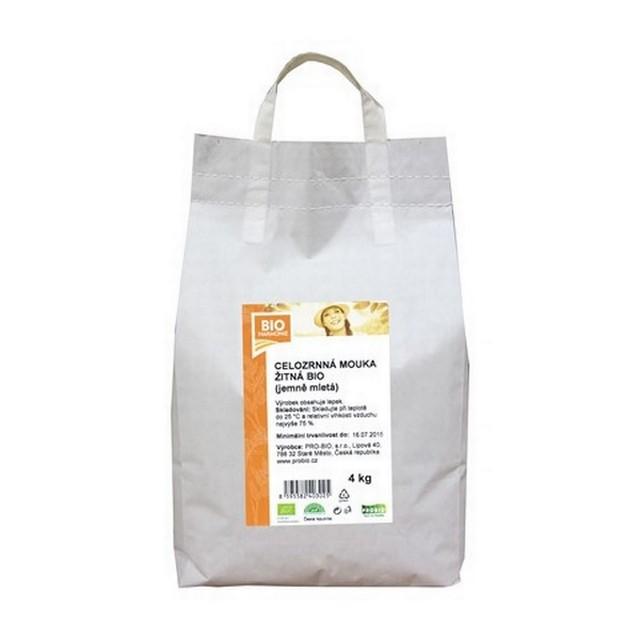 GASTRO - Celozrnná mouka žitná (jem. ml.) BIO 1KS (4 kg)