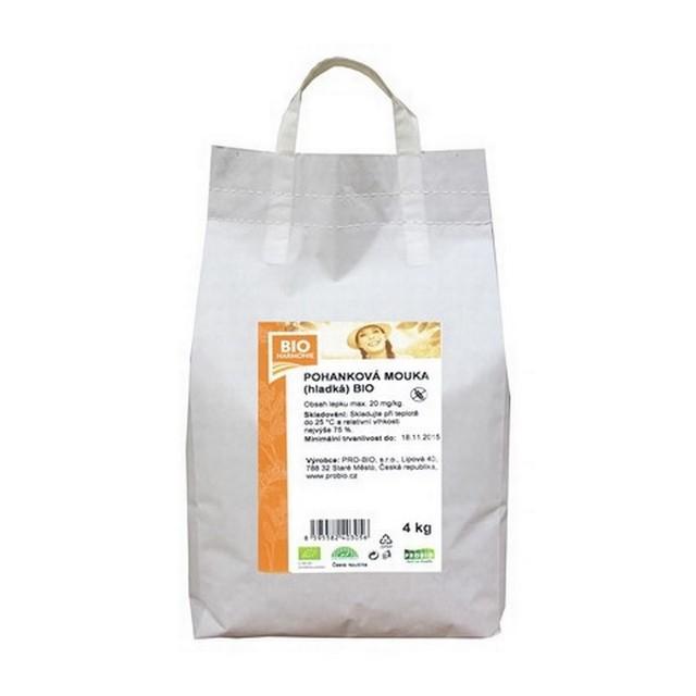 G - Pohanková mouka (hladká)  BEZLEPKOVÁ BIO 1 KS (4 kg)