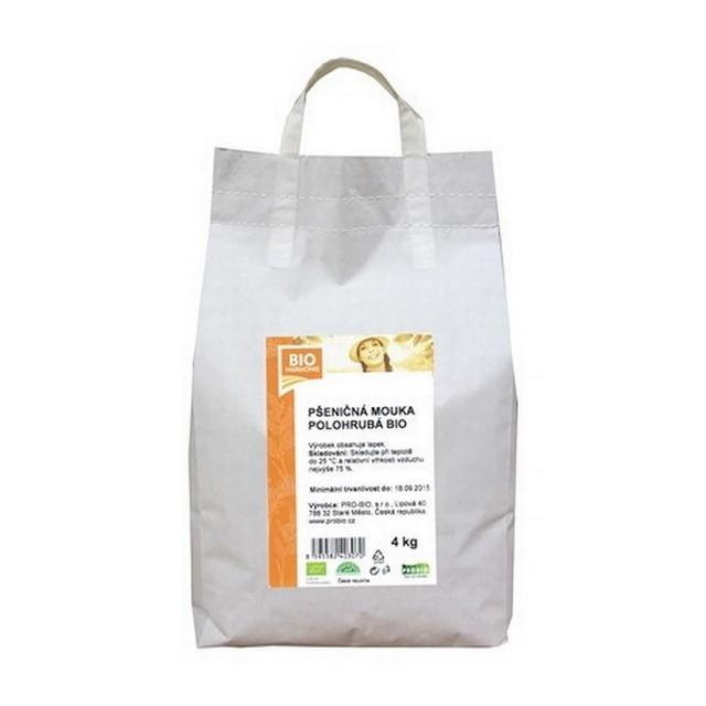 G - Pšeničná mouka polohrubá BIO 1 KS (4 kg)