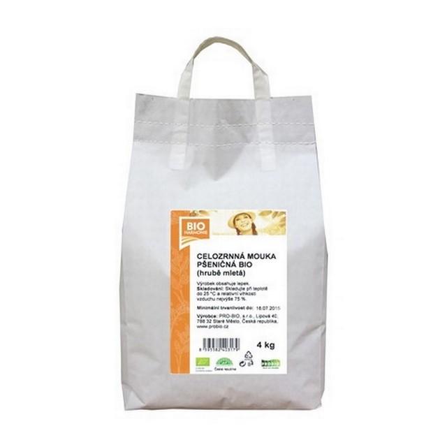 GASTRO - Celozrnná mouka pšen. (hrub. mletá) BIO - 1 KS (4 kg)