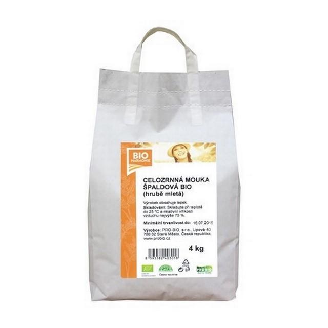 GASTRO - Celozrnná mouka špald. (hrub. mletá) BIO 1 KS (4 kg)