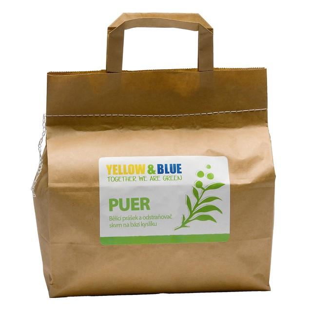 Puer – bělící prášek (pap. pytel 5 kg) TIERRA VERDE