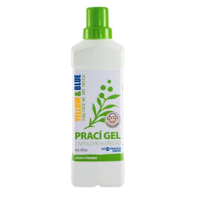 Prací gel vlna (lahev 1 l) TIERRA VERDE
