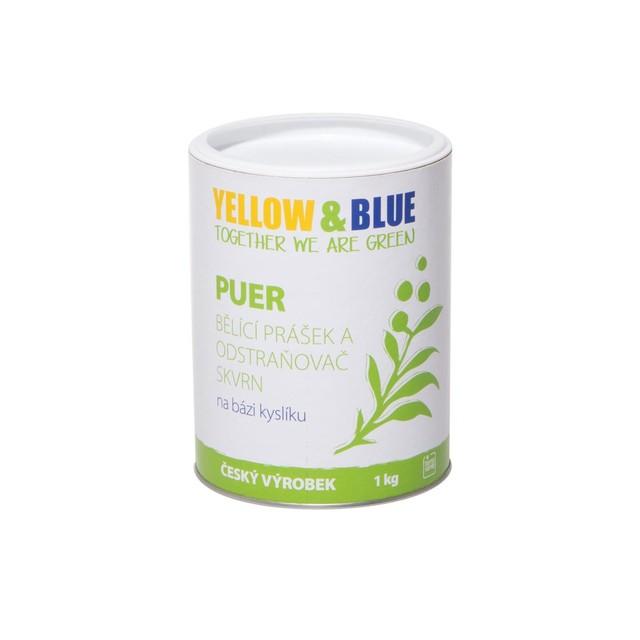 Puer – bělící prášek (dóza 1 kg) TIERRA VERDE