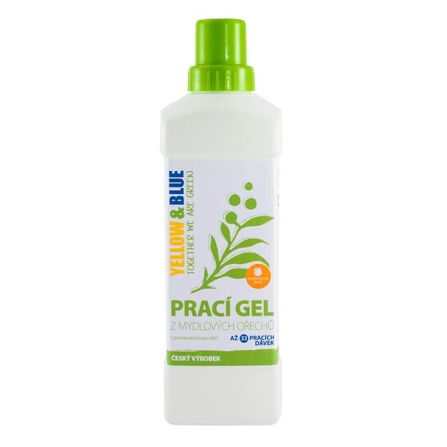 Prací gel pomeranč (lahev 1 l) TIERRA VERDE