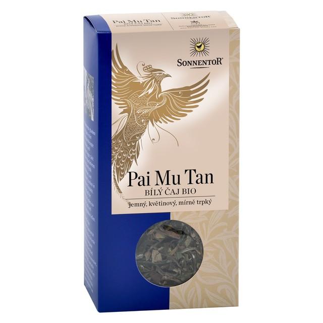 Čaj BIO - Bílý Pai mu tan (zelený) syp.40g