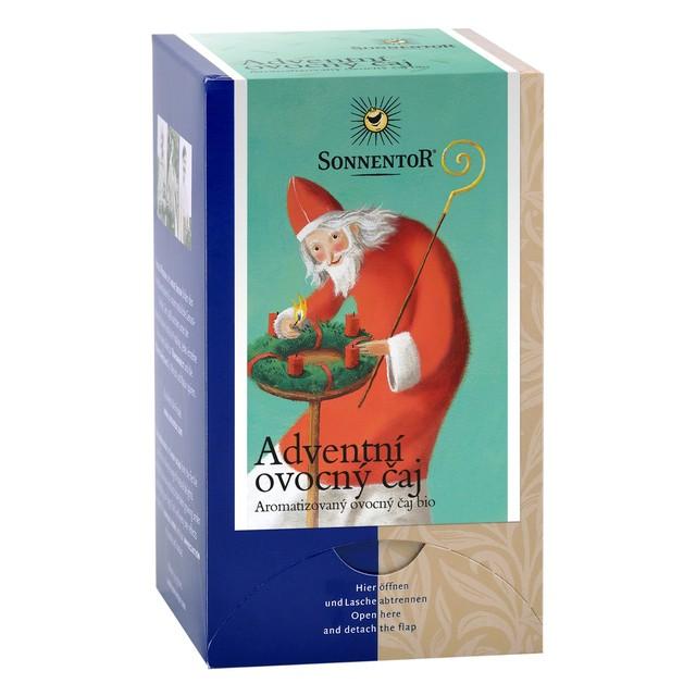 Čaj BIO - Adventní ovocný 54g  přebal - DO VYPRODÁNÍ ZÁSOB