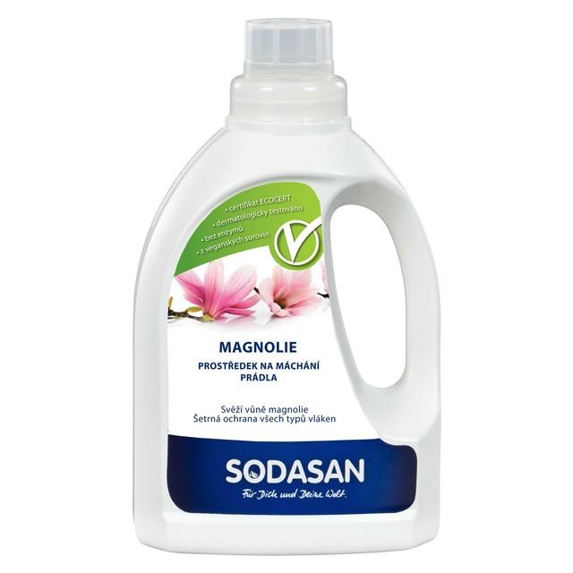 SODASAN prostředek na máchání prádla s vůní magnolie 750 ml
