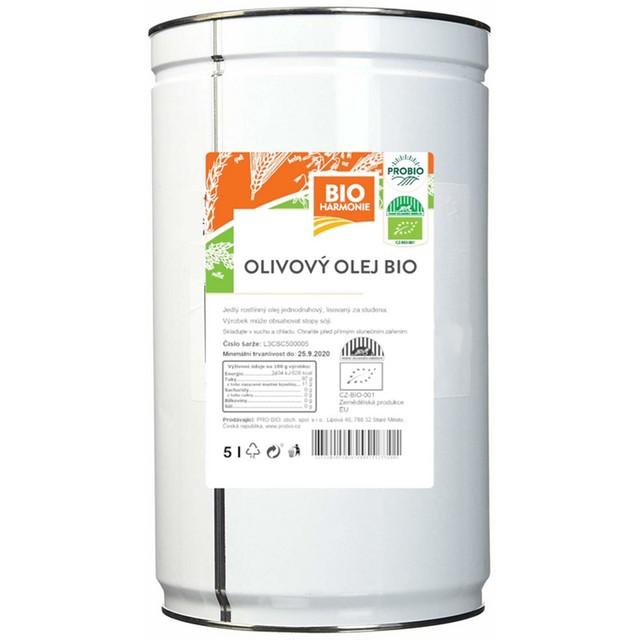 G - Olej olivový BIO extra panenský - 5l