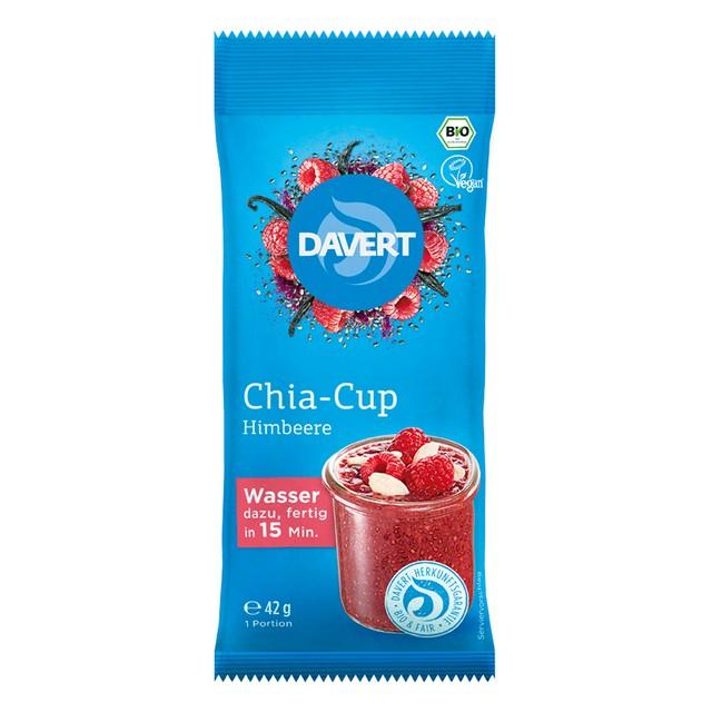 9Chia cup malina (kaše do hrnku) BIO DAVERT 42 g DO VYPRODÁNÍ ZÁSOB