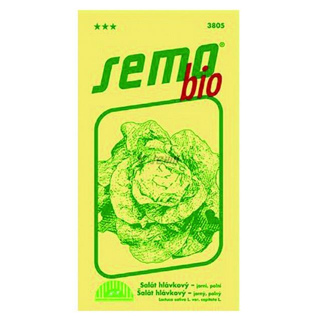 Salát hlávkový SMERALDO BIO 1 g