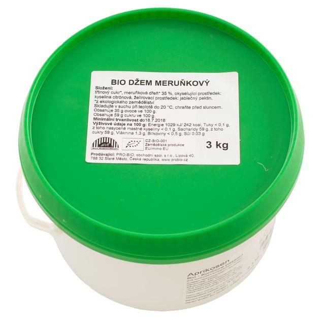 GASTRO - Džem meruňkový BIO - 1 KS (3kg)