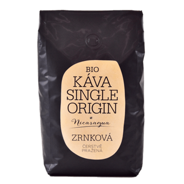 Káva Single Origin Nikaragua BIO celá zrna 1kg