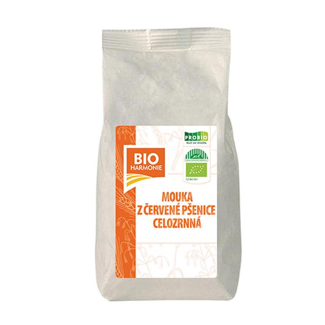 Celozrnná mouka z červené pšenice jemně mletá BIO 450g
