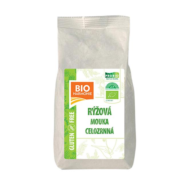 Celozrnná mouka rýžová BIO 300g
