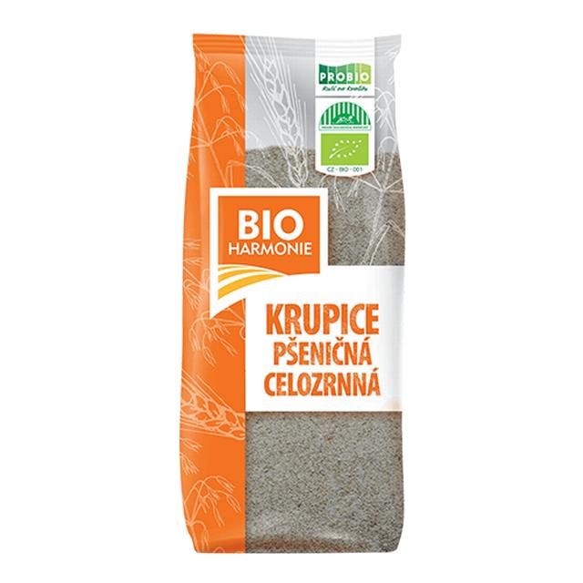 Celozrnná krupice pšeničná BIO 400g