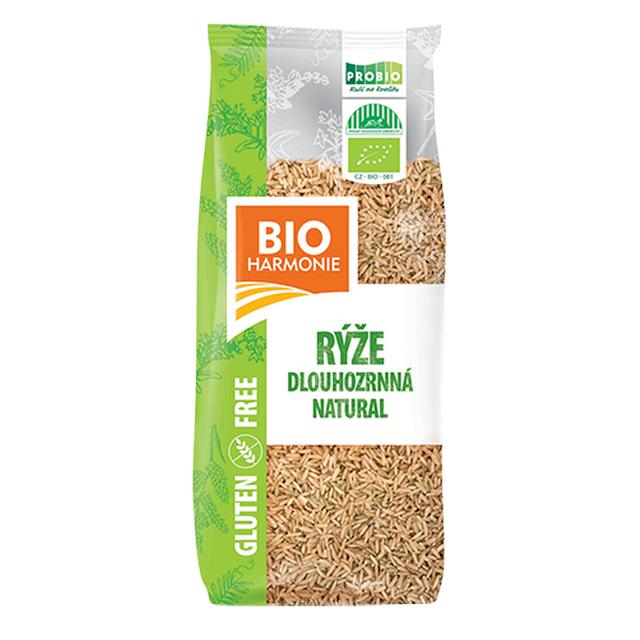 Rýže dlouhozrnná natural  BIO 500g - (H)