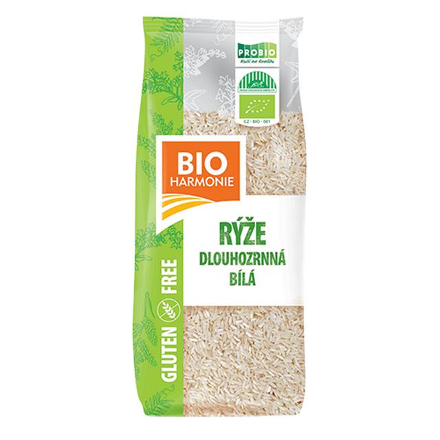 Rýže dlouhozrnná bílá BIO 500g