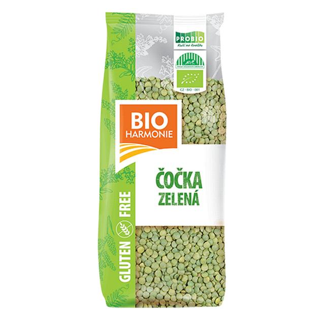 Zelená čočka BEZLEPKOVÉ BIO 500 g