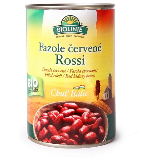 BIOLINIE KONZERVA fazole červená Rossi BIO 400 g