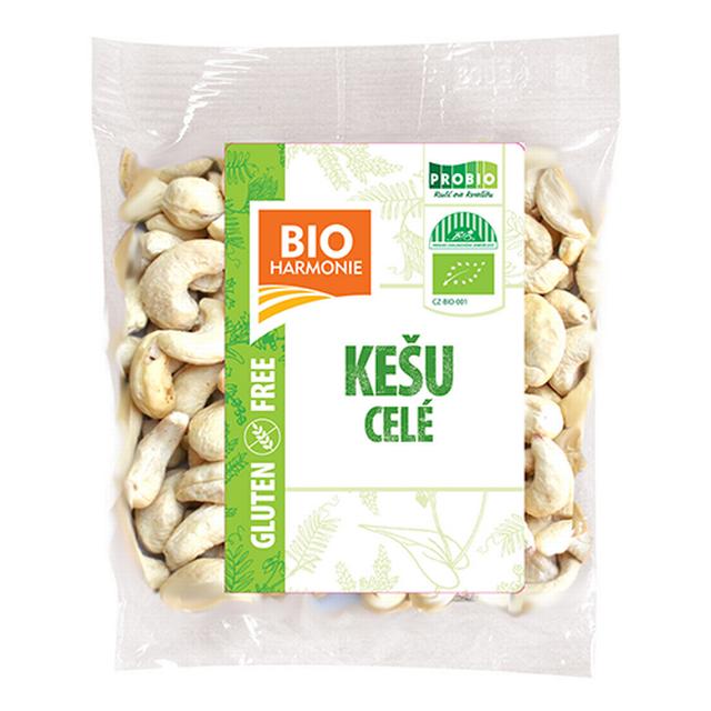 Kešu ořechy celé BIOHARMONIE 80 g