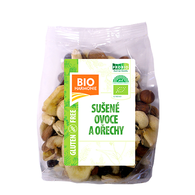 Směs sušeného ovoce a ořechů BIO 125 g