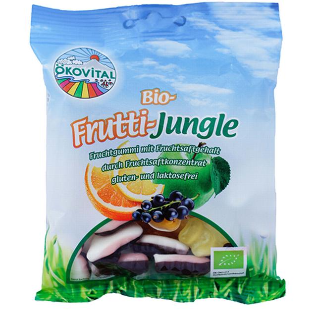 Gumové bonbony Veselá džungle BIO 100 g