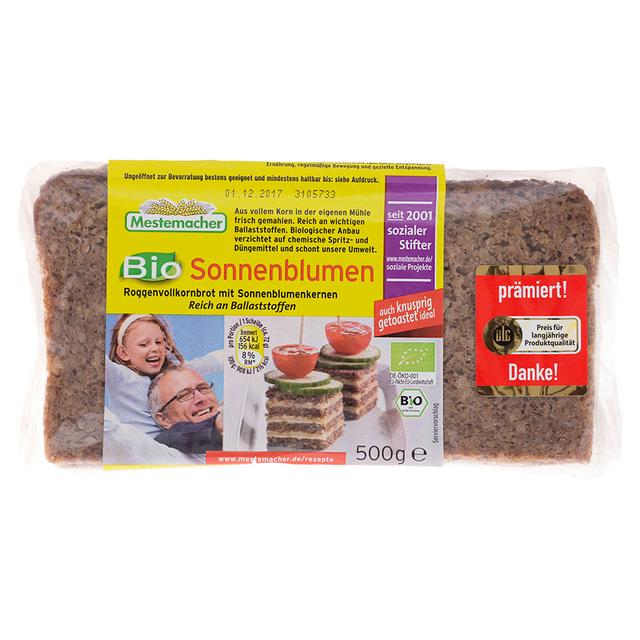 Chléb slunečnicový BIO MESTERMACHER 500 g