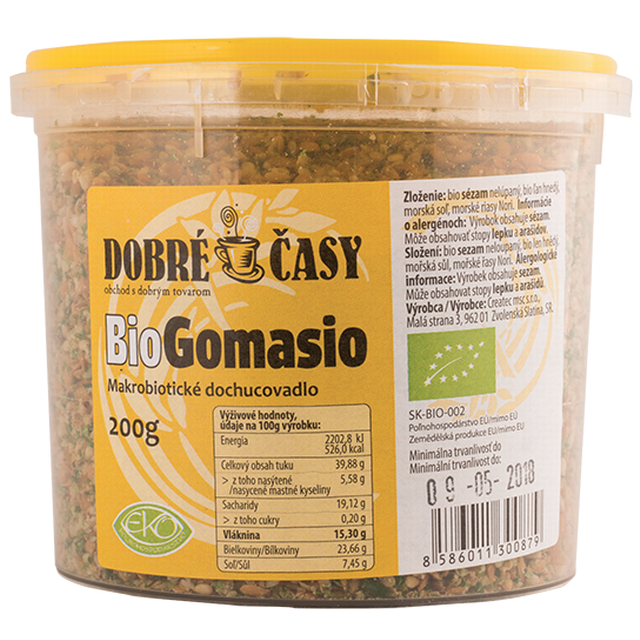 BIO Gomasio (Dobré časy) 200 g