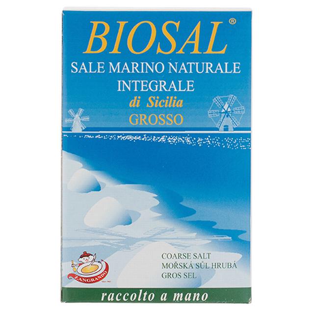 Mořská sůl hrubá 1 kg