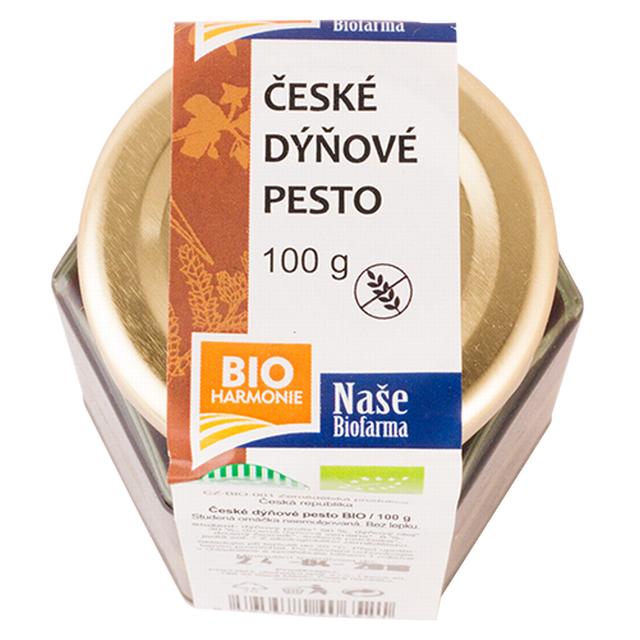 České pesto dýňové NAŠE BIOFARMA BIO 100g