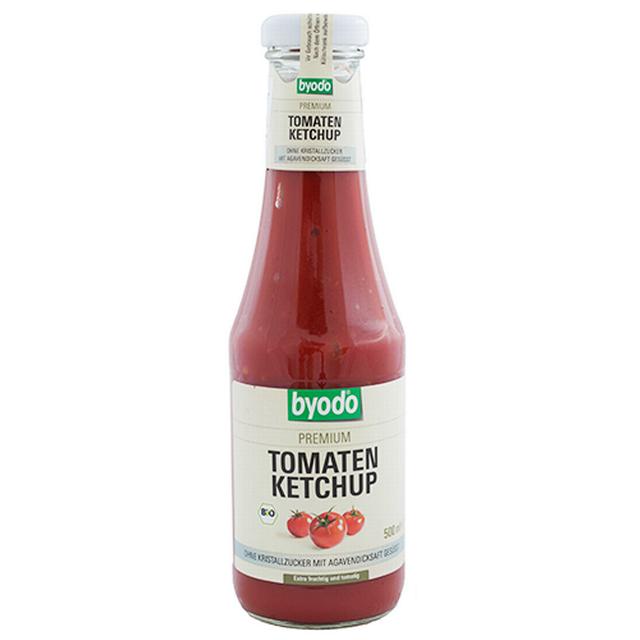 Kečup rajčatový bez cukru s Agáve sirupem BIO 500 ml