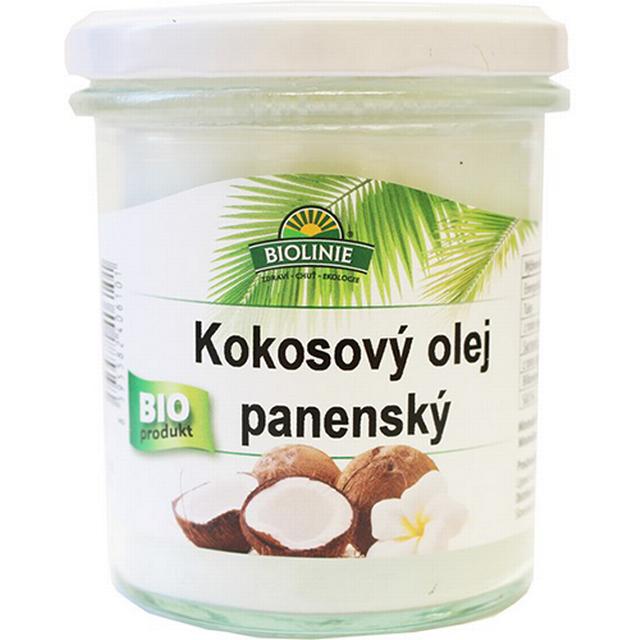 BIOLINIE kokosový olej panenský BIO 240g