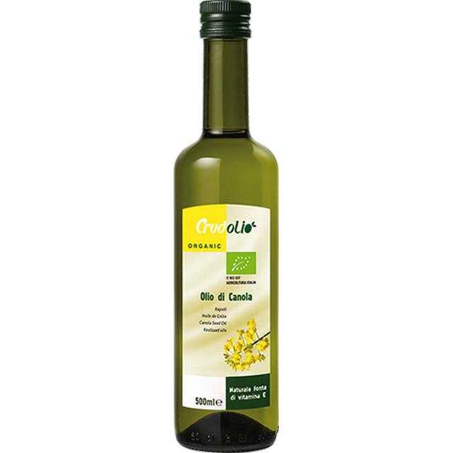 Olej řepkový CRUDOLIO BIO lisovaný za studena 500 ml
