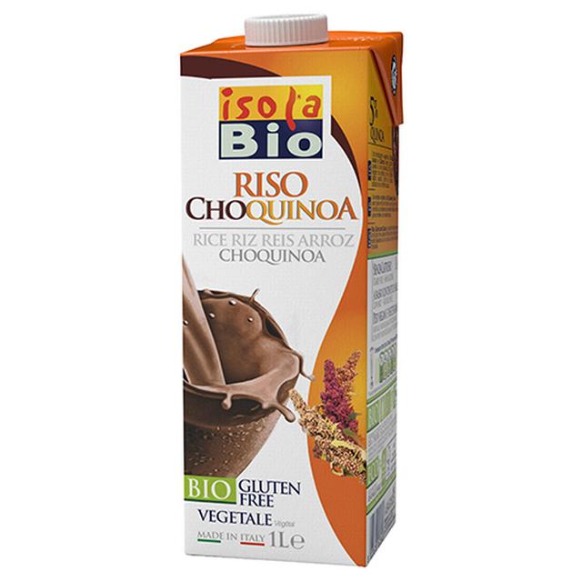 Rýžový nápoj s quinoa a kakaem Isola BIO 1000 ml