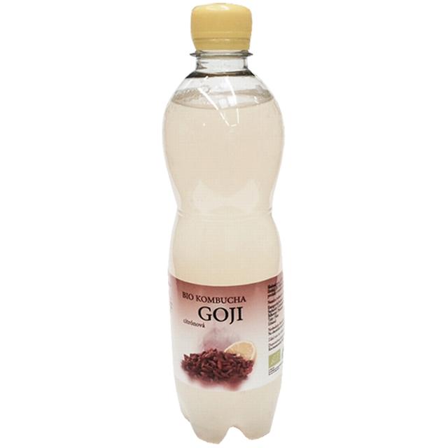 BIO kombucha GOJI - citrónová 500 ml