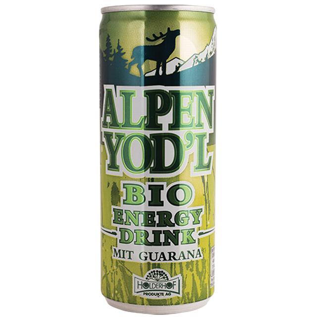 Energ. nápoj ALPEN YOD´L s guar. a kof. BIO 250 ml