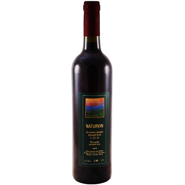 Víno červené - Naturvin 0,75 l