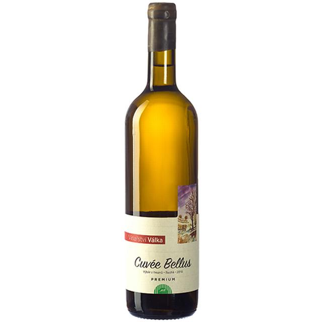 Víno bílé Cuvée Belus ročník 2015 - výběr z hroznů - suché VINAŘSTVÍ VÁLKA 750ml