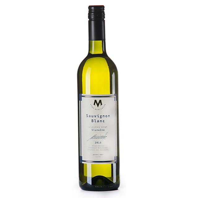 Víno bílé Sauvignon blanc ročník 2016 Marcinčák BIO - Pozdní sběr (suché) 750ml