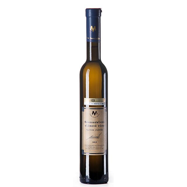 Víno bílé Rizling vlašský ročník 2012 Marcinčák - Slámové víno  (sladké) BIO 375ml - VZ