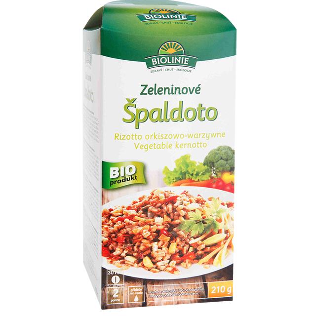 BIOLINIE Zeleninové špaldoto BIO 210 g