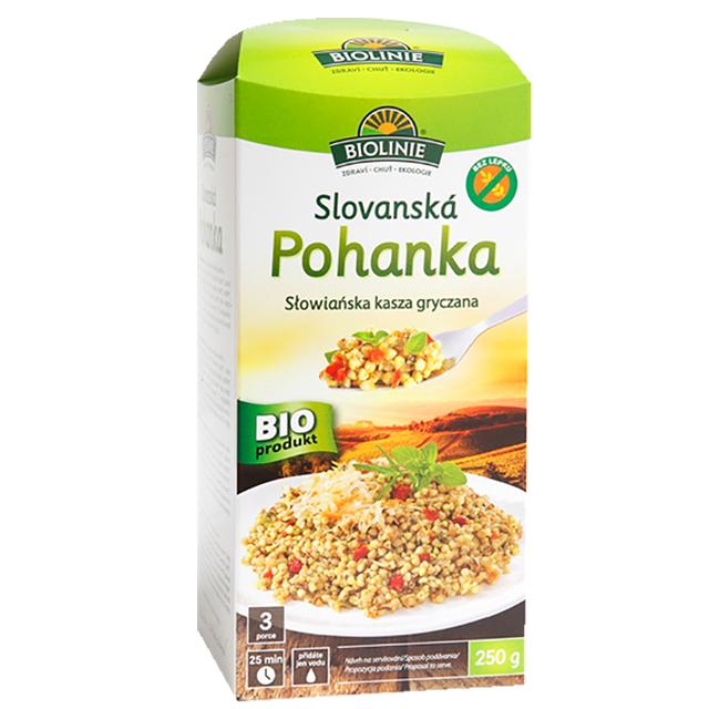 BIOLINIE slovanská pohanka BIO 250 g