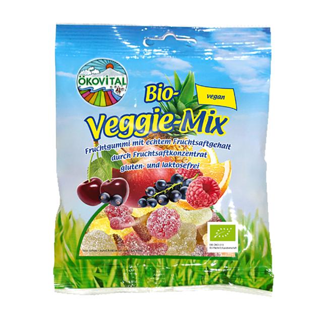 Bonbony gumové Veganský mix BIO 100 g