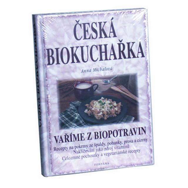 "Kniha - Česká biokuchařka"""