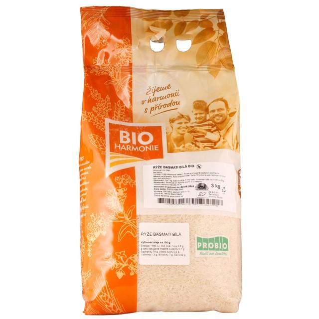 G - Rýže basmati bílá BIO 1 KS (3 kg)