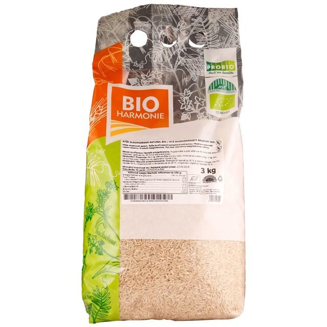 G - Rýže dlouhozrnná natural BIO 1 KS (3 kg)